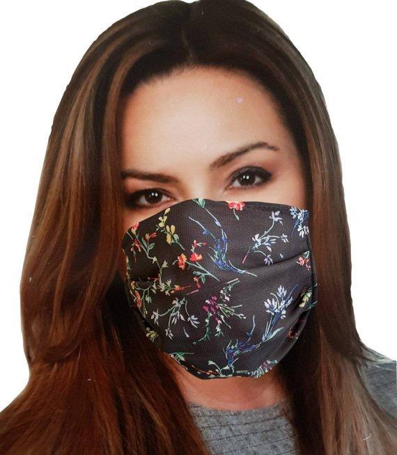 MASECZKA damska maska ochrona 3 warstwy