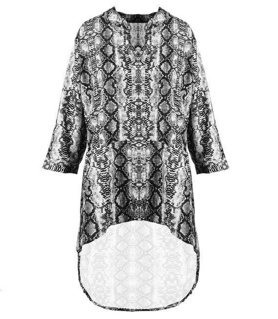 Piękna koszula sukienka tunika oversize