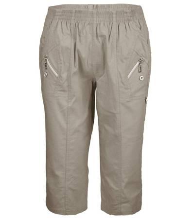 Wygodne elastyczne spodnie 3/4 rybaczki letnie